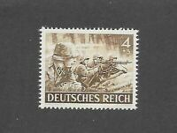 MNH stamp / 1943 /  PF04 + PF03 / Military Wehrmacht Infantry  / WWII Germany