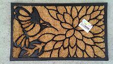 Humming Bird - Natural Coir on Rubber Backing Door Mat