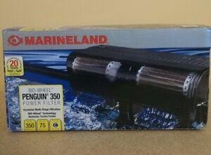 MarineLand Penguin 350 BIO Wheel Power Filter 50 to 75 Gallon 350 GPH