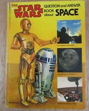 Vintage Star Wars Question And Answer Book About Space 1979