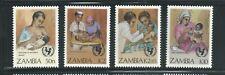 Zambia Scott # 440-443 MNH UN Child Survival Campaign