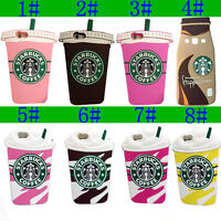 Starbucks 3D Silicone Coffee Phone Case Skin Cover For iPhone X SE 5 6 7 8 Plus