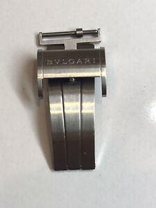 Authentic Bulgari ergon Deploymend Clasp stainless steel 18mm