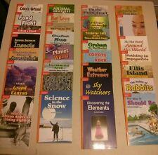 Grade 5 McGraw Hill Set of 29 Leveled Readers,Treasures,Orange Back,(Homeschool)