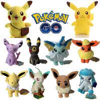 Pokemon Pikachu Eevee Flareon Umbreon Plush Soft Toy Stuffed Animal Doll Gift