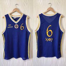 17e941a05c1 FENERBAHCE 1994 1995 VINTAGE BASKETBALL BASKETBOL SHIRT JERSEY ADIDAS MATCH  WORN