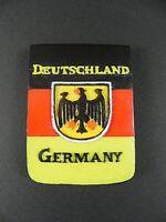 Imán Alemania Bandera S/R / Oro de Poliresina Recuerdo de Alemania, 6cm, Nuevo