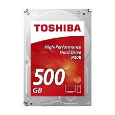Toshiba P300 500gb 7200rpm 3.5 SATA Hard Drive (bulk)