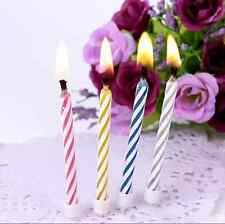 10x Magic Relighting Candles Tricky Toy Gift Eternal Birthday Blowing Candles Un