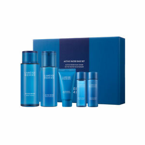 [LANEIGE] Homme Active Water Duo Set - 1set (5 items) / Free Gift