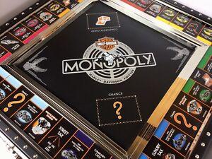 Franklin Mint Monopoly Harley Davidson Collectors Limited Edition VTG GAME HTF