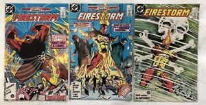 Fury of Firestorm Nos. 55, 56 & 57 (DC, 1987) VF/NM. Legends Darkseid Hawk