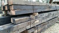 Recycled Jarrah 300 X 150 mm Old Wharf and Bridge Timbers
