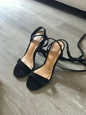 Black Asos Shoes Heels Sandals 36