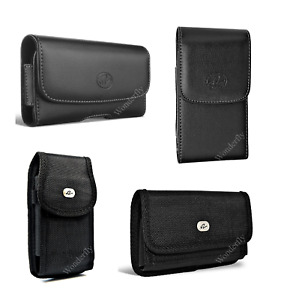 """Pouch for LG X Power (5.3"""") phone with a protective case on it"""