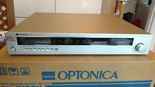 Vintage Optonica ST-7100H fantastic and fully working radio / tuner boxed 1981