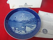 2006 ROYAL COPENHAGEN CHRISTMAS  PLATE KRONBORG CASTLE NEW