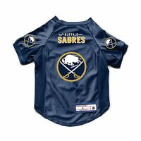 NEW BUFFALO SABRES DOG CAT DELUXE STRETCH JERSEY