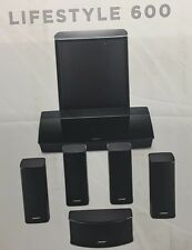 Bose Lifestyle 600 Home Entertainment System schwarz - APP Steuerbar # NEU & OVP