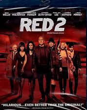 USE BLU-RAY+ DVD  - RED 2 - Bruce Willis, John Malkovich, Mary-Louise Parker,