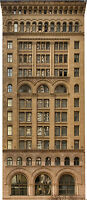 #156  HO background building flat OLD OFFICE BUILDING #3 *FREE SHIPPING*