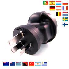 Reiseadapter Australien Neuseeland China Argentinien Fidschi Uruguay uvm Adapter