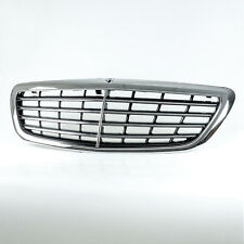 Chrome OE Style Front Mesh Grill For Mercedes Benz S-Class W222 2014-2020