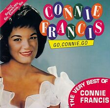 CONNIE FRANCIS : GO, CONNIE, GO - THE VERY BEST OF CONNIE FRANCIS / CD