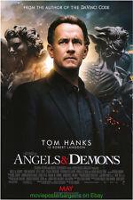ANGELS AND DEMONS MOVIE POSTER Original DS 27x40 International Version TOM HANKS