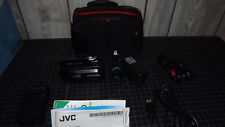 JVC Camcorder  SMALL   NICE   Includes EXTRAS  JVC GZ 230U