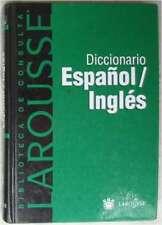 DICCIONARIO ESPAÑOL / INGLÉS - ED. LAROUSSE & RBA 2000 - 313 PÁGINAS - VER