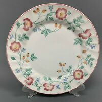 """Churchill Staffordshire Briar Rose Dinner Plate 10"""" Made in England"""