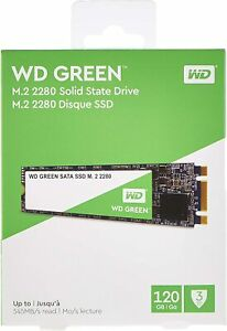 Western Digital Verde SSD 120GB/ 240GB/ 480GB SATA M.2 2280 Stato Solido