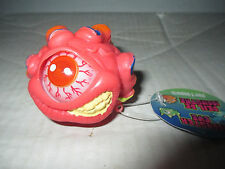 Red Eye Monster Ball w/ Hand Figure Cyclops Toy Toysmith Eye Pops In and Out