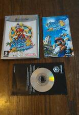 Super Mario Sunshine jeu pour Nintendo Gamecube compatible Wii  1 ère génération
