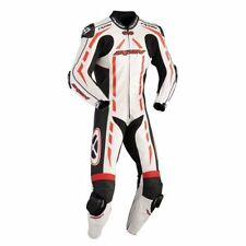 Tute in pelle e altri tessuti un pezzo traspirante per motociclista taglia S