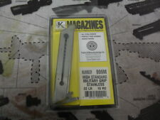 High Standard Magazine for Military Grip by Triple K Stainless Steel  #999M