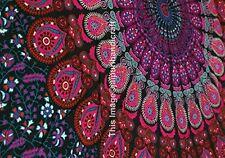 Indian Mandala Tapestry Indian Hippie Wall Hanging Bohemian Twin 100% Cotton