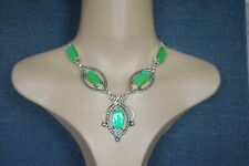 """HANDMADE HAND CRAFTED DICHROIC GLASS NECKLACE - Amazing,High Quality,21 1/2"""""""