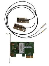 HP RT3090PCIE-C2 WiFi LP PCIe w/ Antenna 588543-KIT Low Profile Bracket