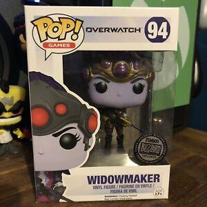 Funko POP Vinyl Overwatch Widowmaker (BLIZZARD) #94 + FREE POP PROTECTOR!