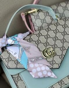 Gucci 466507 Leather Crossbody Clutch