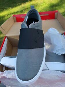 PUMA El Rey II Slip On Sneaker Gray Size 11 Adult Unisex