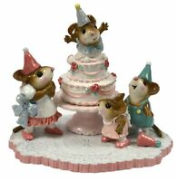 Wee Forest Folk Mouse SURPRISE! 30th Anniversary M2002 W/BOX & 3 Signatures