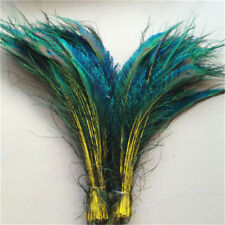 Peacock feather sword 13-16 inches / 33-40 cm 10-100 pcs 10 Color for choose