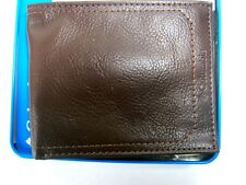 Columbia Mens Bifold Leather RFID Security Wallet Brown 31CP220006