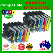 10x Ink Cartridge LC980 LC67 LC38 For Brother DCP-145C DCP-165C MFC-790CW J615W