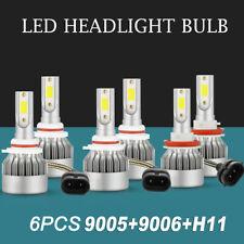 New ListingCombo 9005 9006 H11 Led Headlight High Low Beam Bulbs Fog Light 4965W 744750Lm
