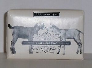 Beekman 1802 Pure Goat Milk Bar Soap 9 oz Brand New Sealed