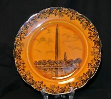 Antique F.Beardmore&Co,Stoke on Trent, Fenton England, Washington Monument Plate